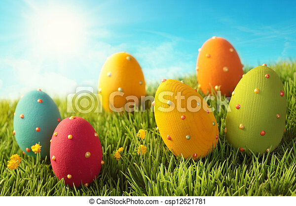 eier, ostern - csp12621781