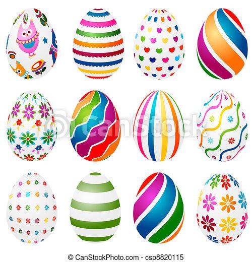 eier, ostern - csp8820115