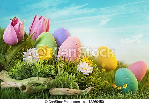 eier, ostern - csp12260450