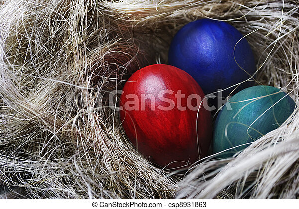 eier, ostern - csp8931863