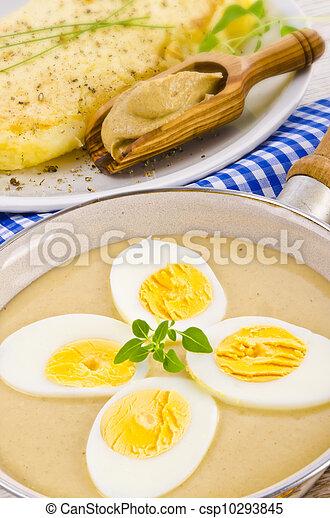 Senf eiersoße