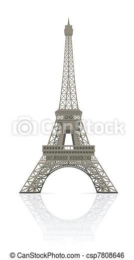 Eiffel tower - csp7808646