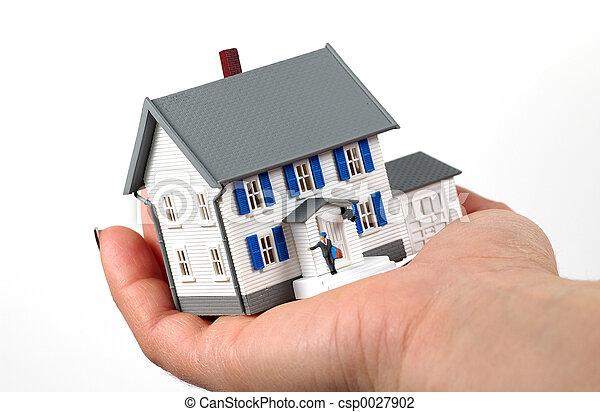 Hausbesitzer - csp0027902