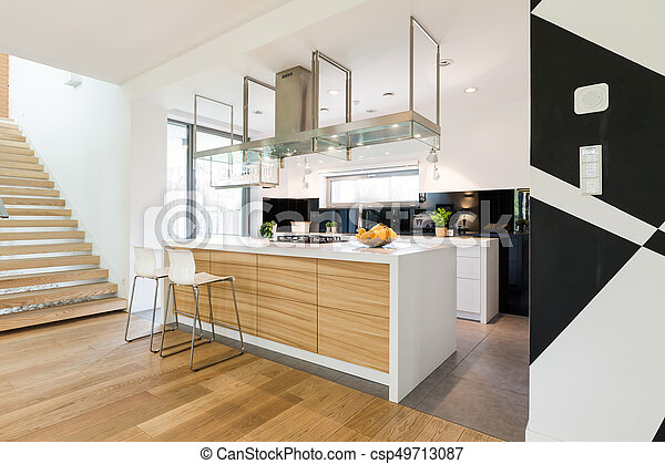 Eiland moderne deel elke interieur keuken grit kamer
