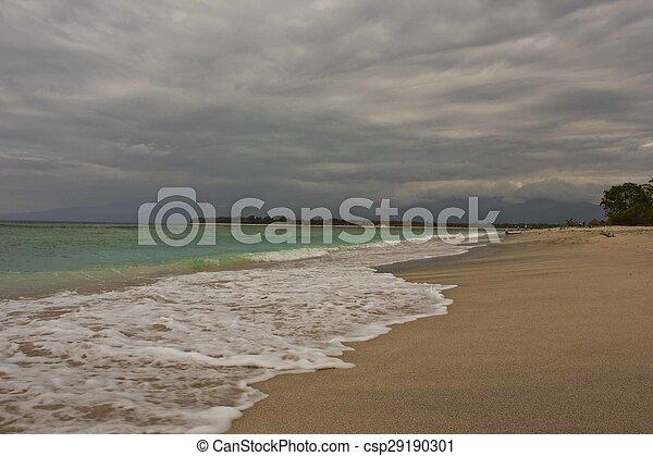 eilanden, strand, gili - csp29190301
