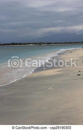 eilanden, strand, gili - csp29190303
