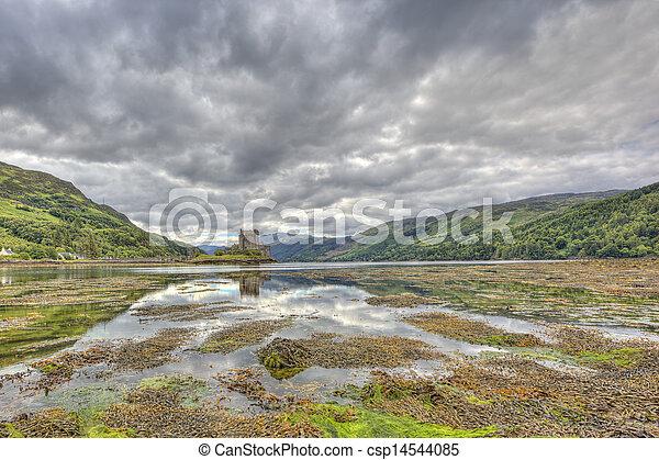 Eilean Donan castle, Highlands, Scotland, UK - csp14544085