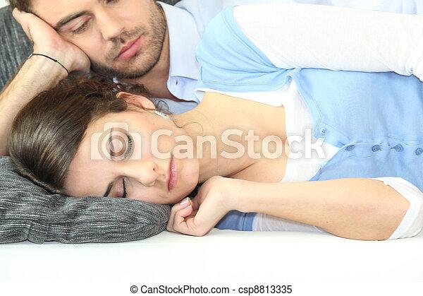 Mit der freundin schlafen