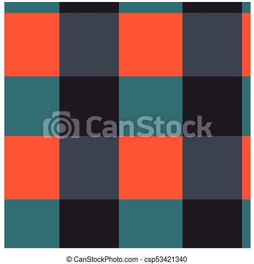 Einfache , Farbe, Quadrate, Seamless, Muster   Csp53421340