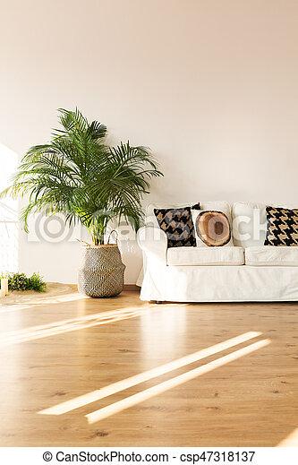 einfache , wohnzimmer, sofa