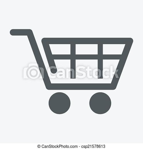 Einkaufswagen - csp21578613
