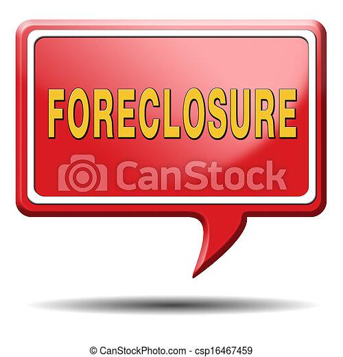La ejecución hipotecaria - csp16467459