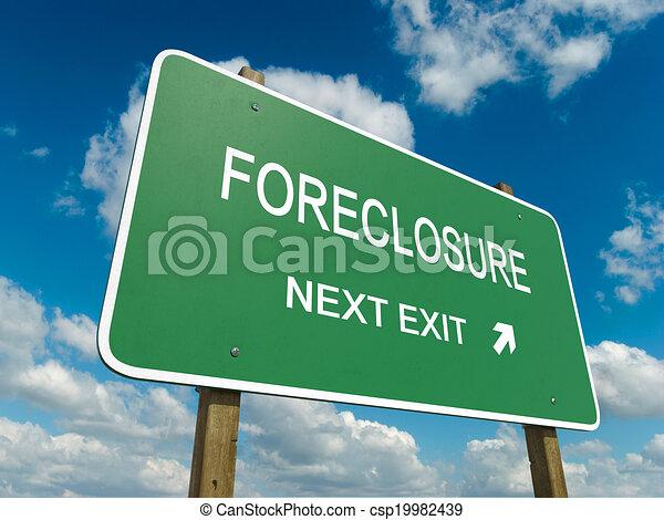 La ejecución hipotecaria - csp19982439