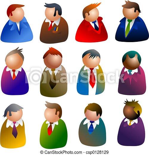iconos ejecutivos - csp0128129