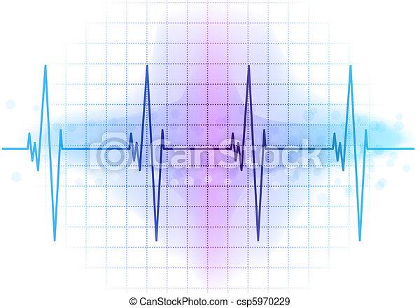 ekg diagram light blue heart beat diagram rh canstockphoto com heart rate diagram heartbeat diagram labeled