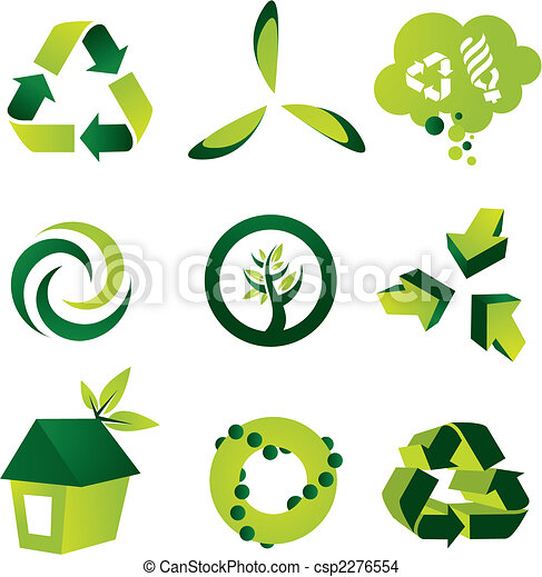 ekologický, základy, design - csp2276554