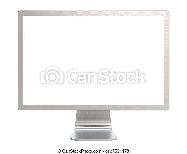 ekran, komputer - csp7531478