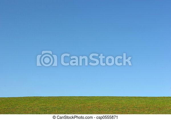 eléments terre, ciel - csp0555871