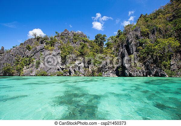 el , φιλιππίνες , θαυμάσιος , λιμνοθάλασσα , nido - csp21450373