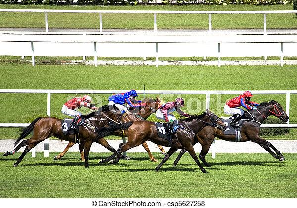 el competir con del caballo - csp5627258