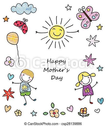 Feliz día de la madre - csp28139886