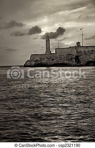 El morro lighthouse in havana - csp2321190