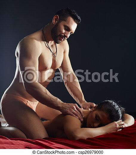 apasionado erótico pecho enorme