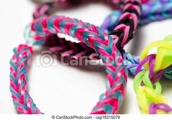 elastico, braccialetti - csp18315079
