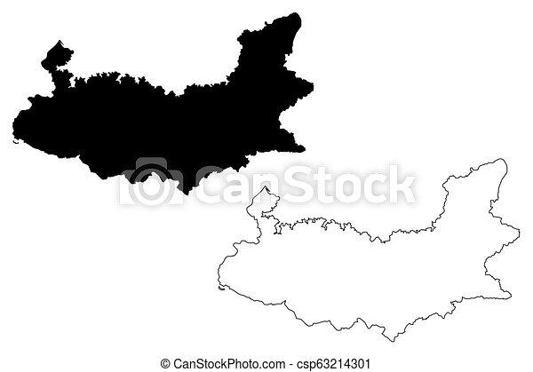 Elazig map - csp63214301