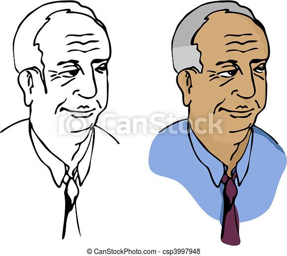 Elderly Businessman - csp3997948