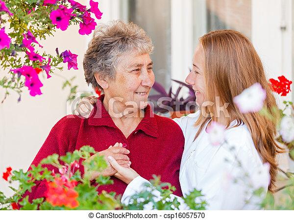 Elderly care - csp16057570
