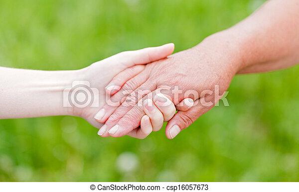 Elderly care - csp16057673