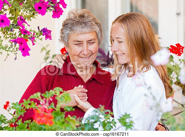 Elderly care - csp16167211