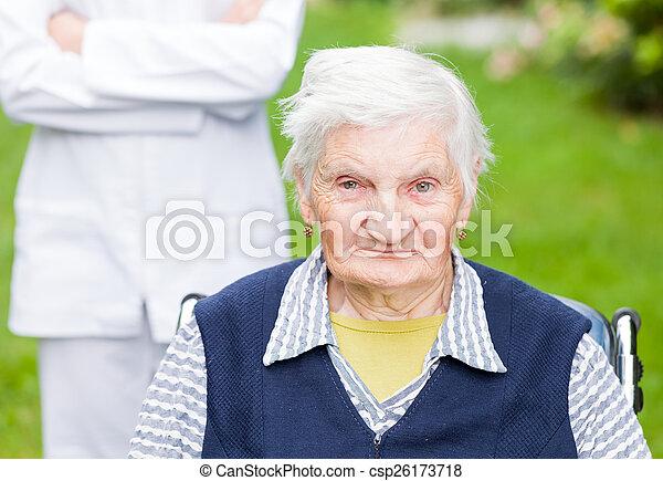 Elderly care - csp26173718