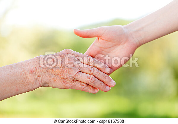 Elderly care - csp16167388