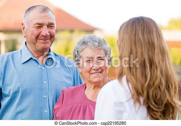 Elderly care - csp22195280