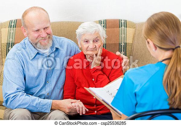 Elderly care - csp25536285