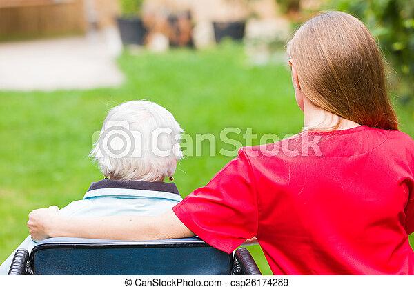 Elderly care - csp26174289