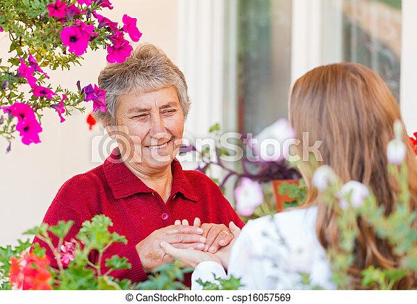 Elderly care - csp16057569