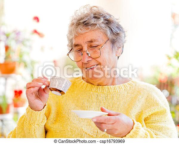 Elderly care - csp16793969