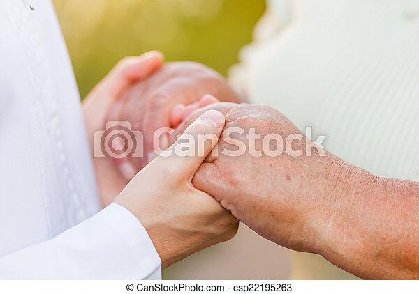 Elderly care - csp22195263