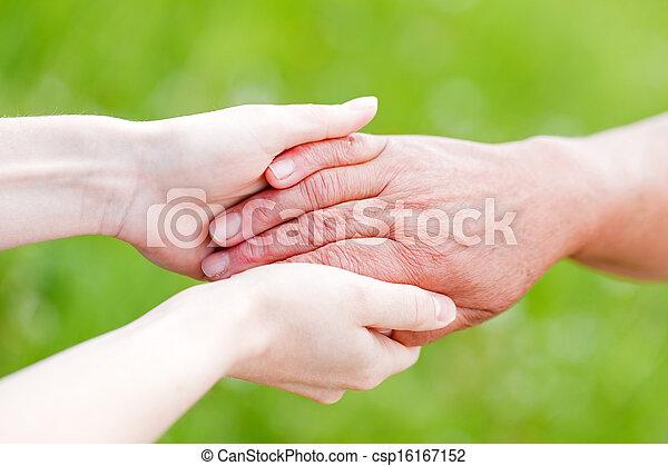 Elderly care - csp16167152