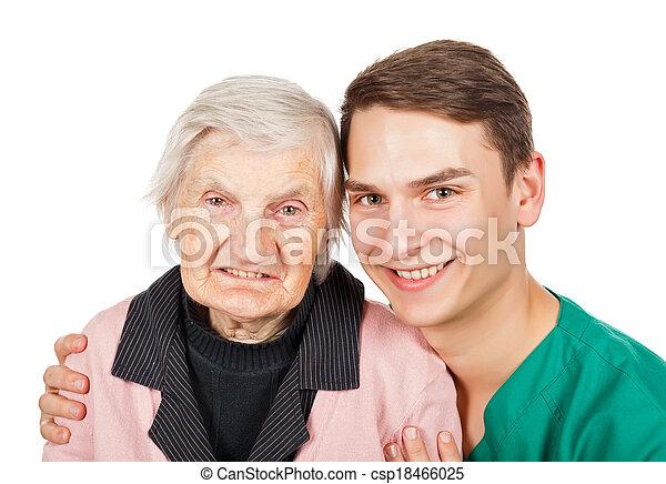 Elderly care - csp18466025