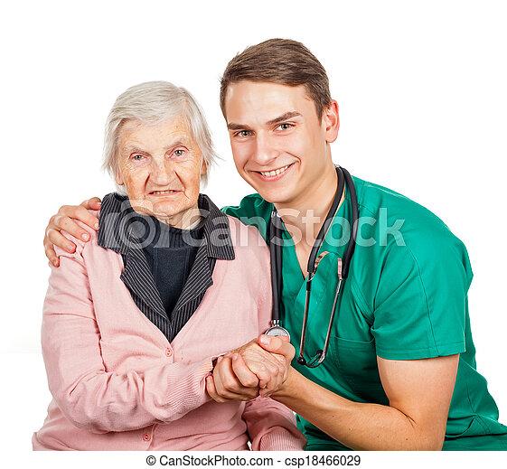 Elderly care - csp18466029
