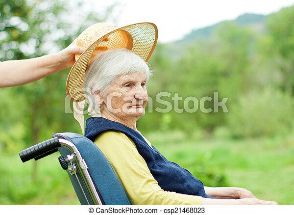 Elderly care - csp21468023