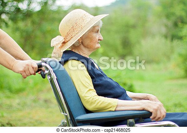Elderly care - csp21468025