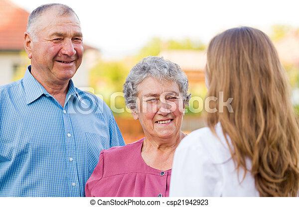 Elderly care - csp21942923