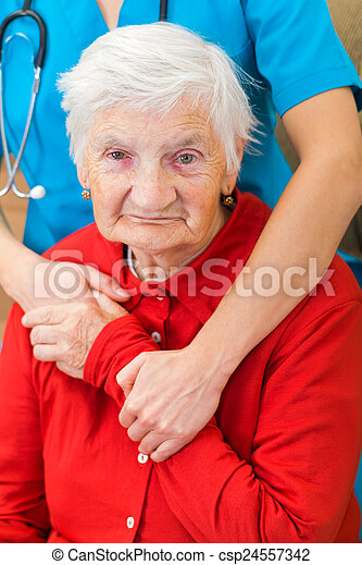 Elderly care - csp24557342