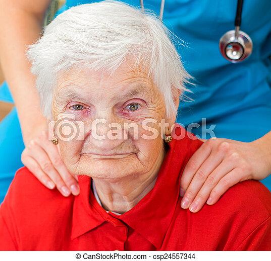 Elderly care - csp24557344
