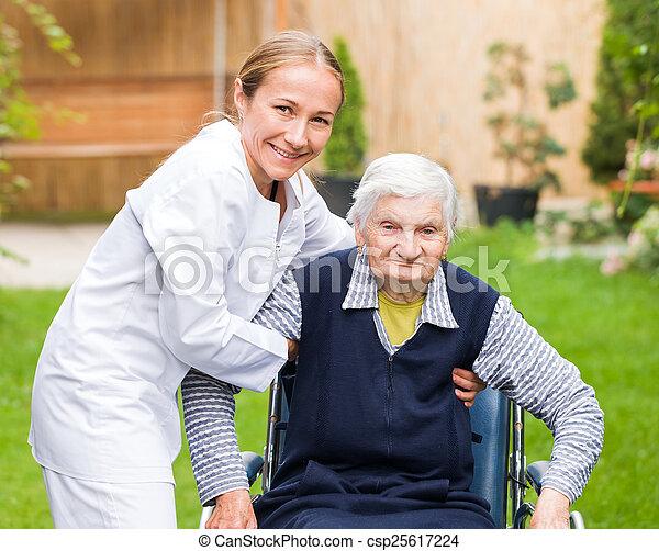 Elderly care - csp25617224